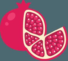 Pomegranate چاپ آوای گلستان-چاپ عرض 5 متر
